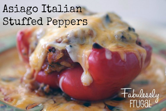 Asiago Italian Stuffed Peppers