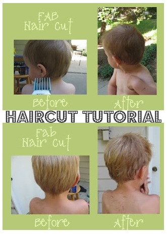 DIY kids haircut