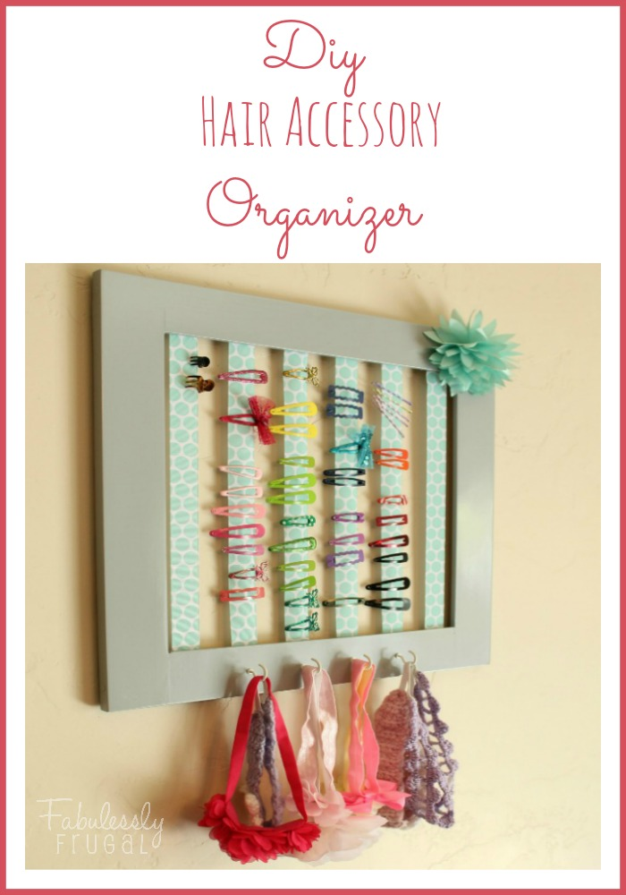 DIY Hair Accessory Organizer 700x100 feat image