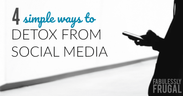4 ways to do a social media detox