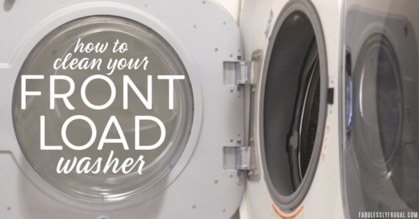 Best way to clean front load washing machine