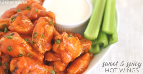 Sweet & Spicy Hot Wings Recipe