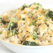 The best chicken broccoli rice casserole