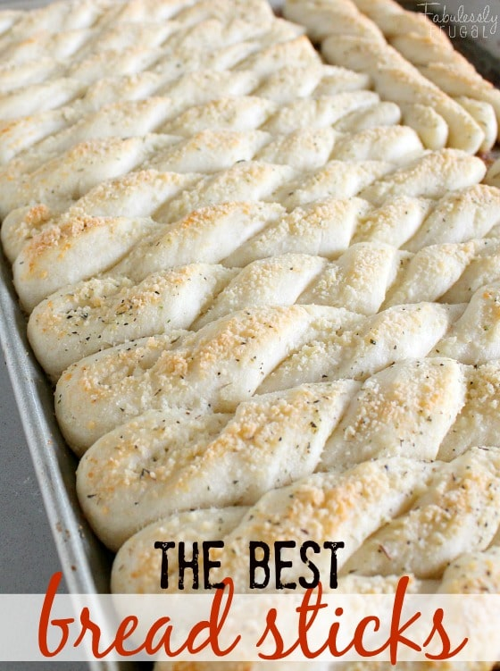 Best homemade breadstick recipe