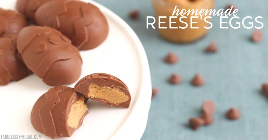 Reese S Chocolate Peanut Butter Egg Recipe Fabulessly Frugal