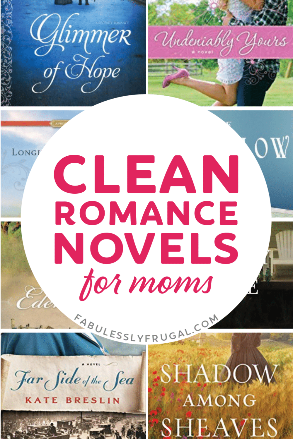 Clean romance novels for moms