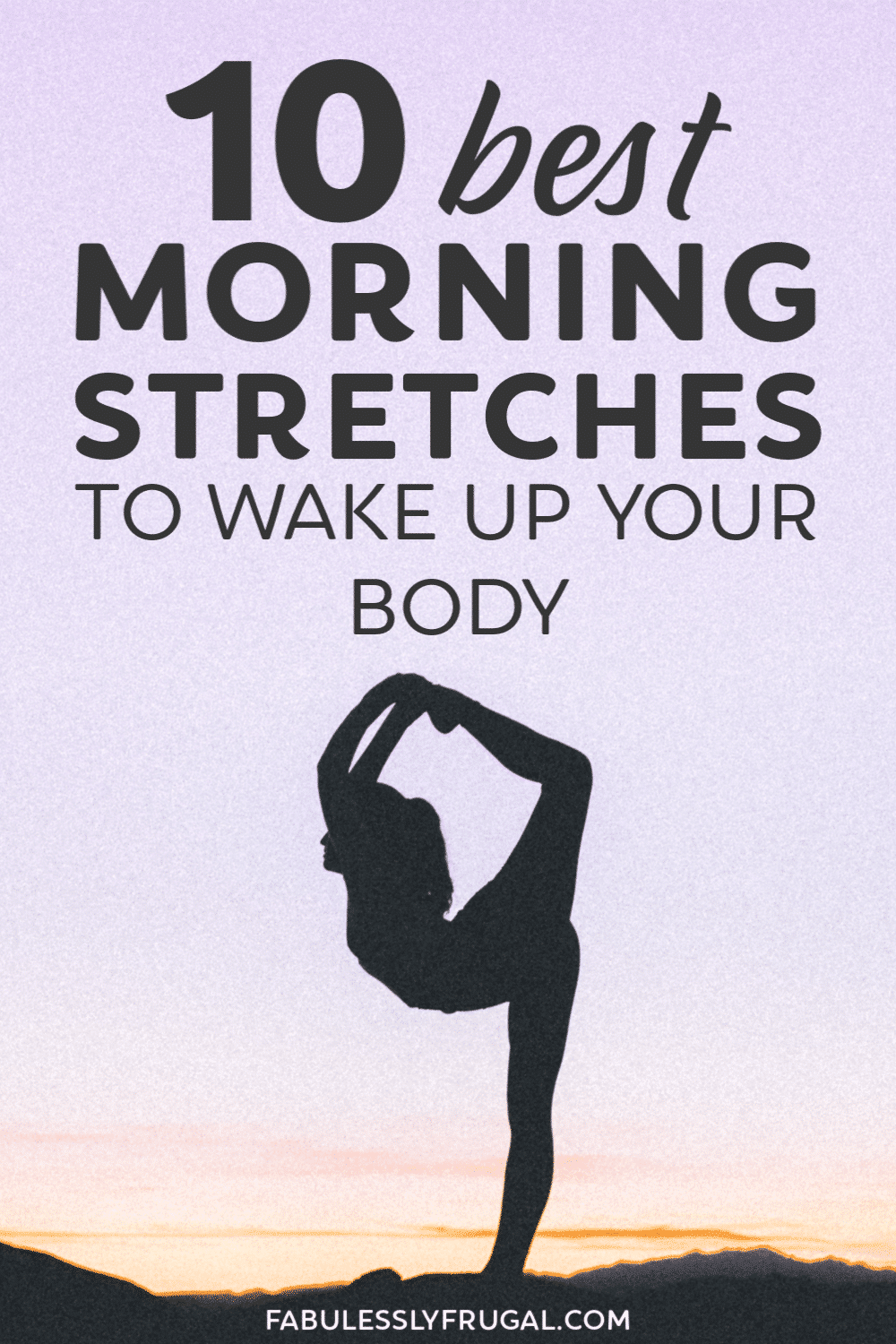 Morning stretches to wake up your body