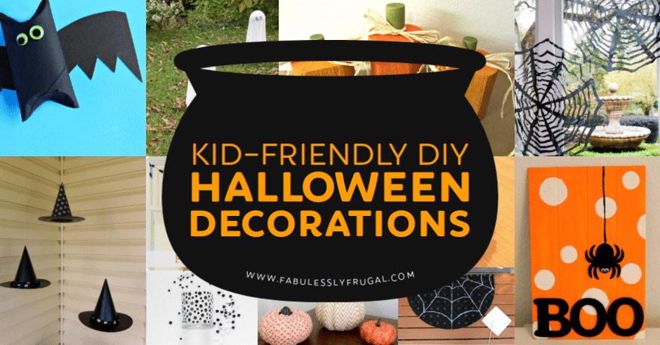 20 Kid Friendly Diy Halloween Decorations Fabulessly Frugal