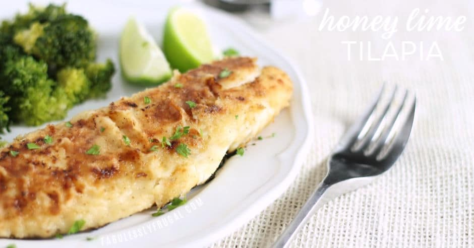 honey lime tilapia fish recipe