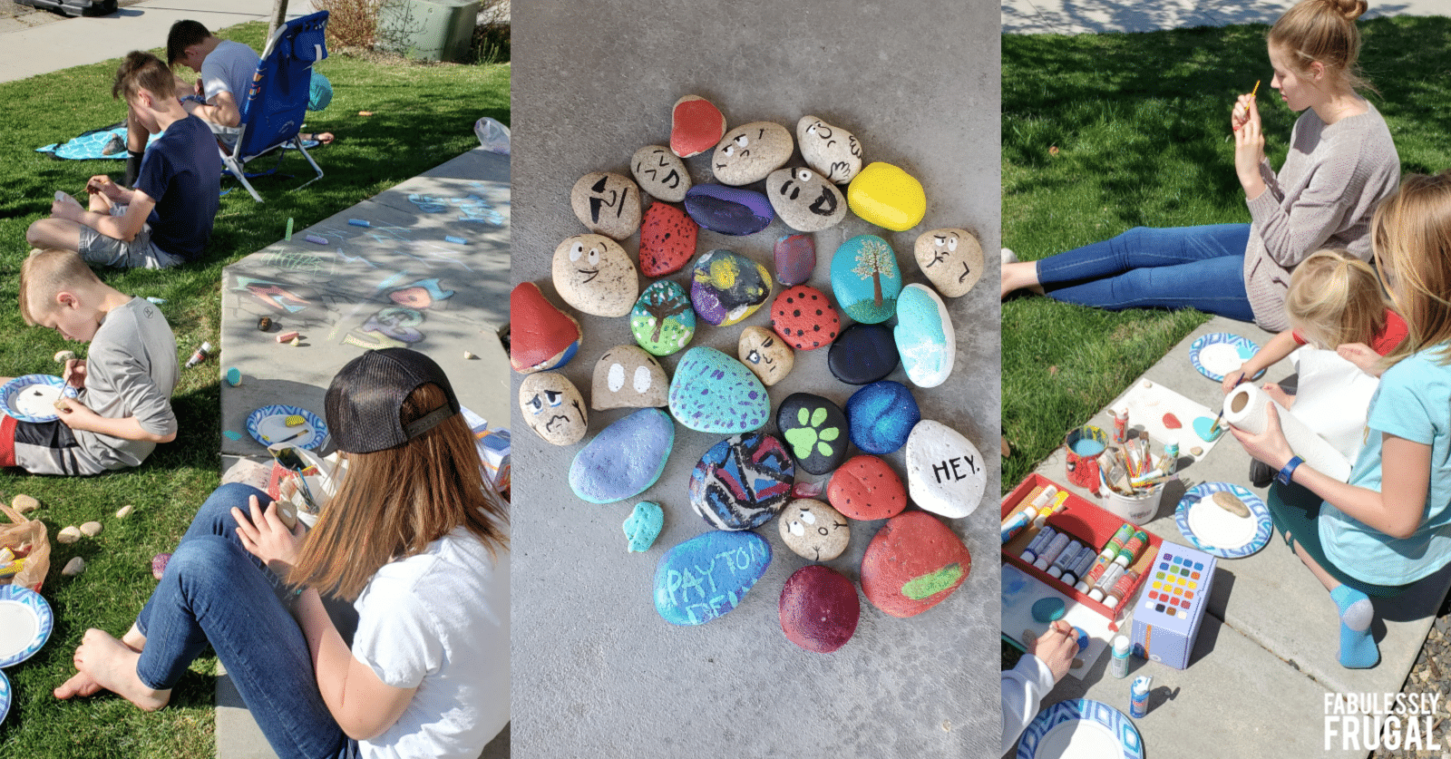 50 Easy Rock Painting Ideas For Beginners Fabulessly Frugal
