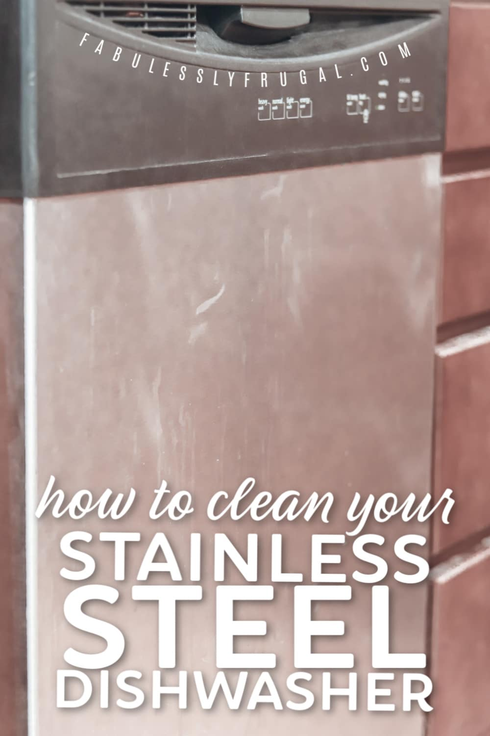 How to clean your stainless steel dishwasher
