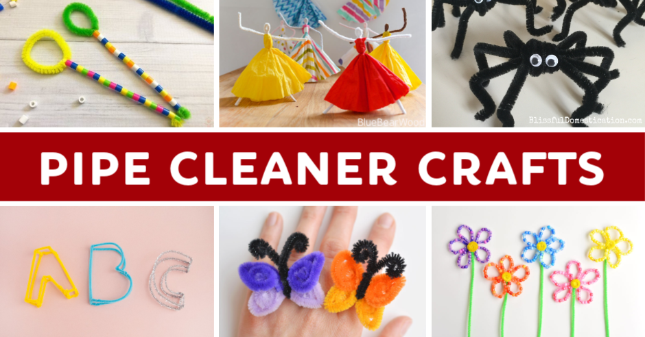 What to make with pipe cleaners