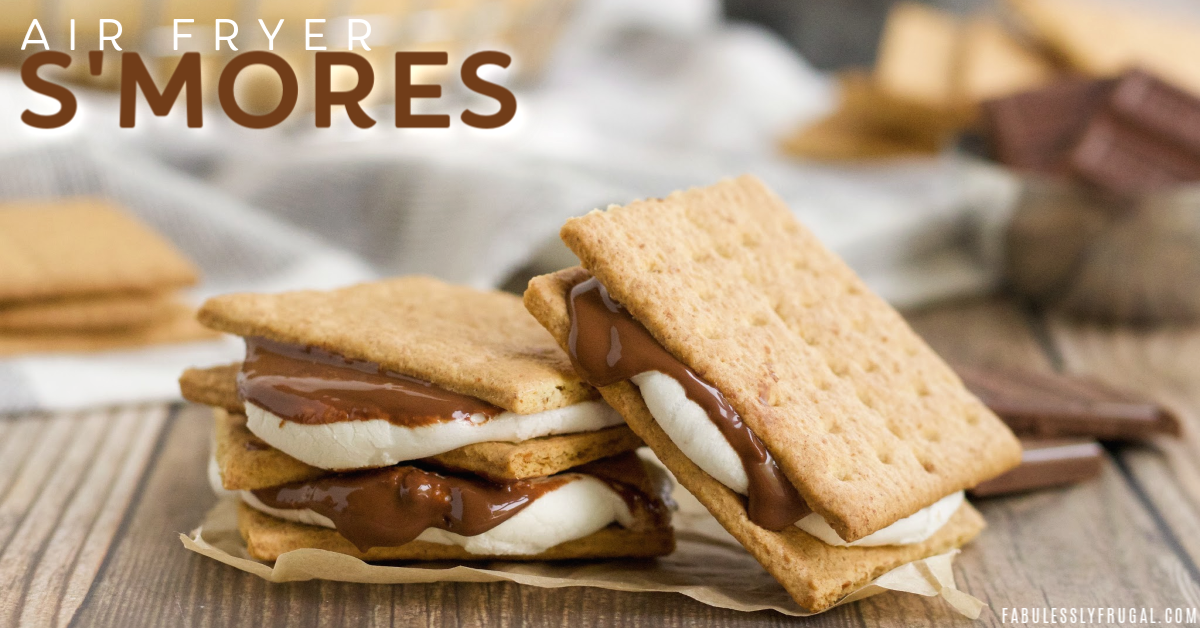 Stack of gooey smores