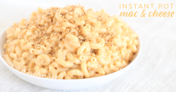 the best instant pot mac & cheese