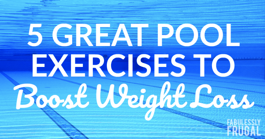 swimming pool exercises for weight loss