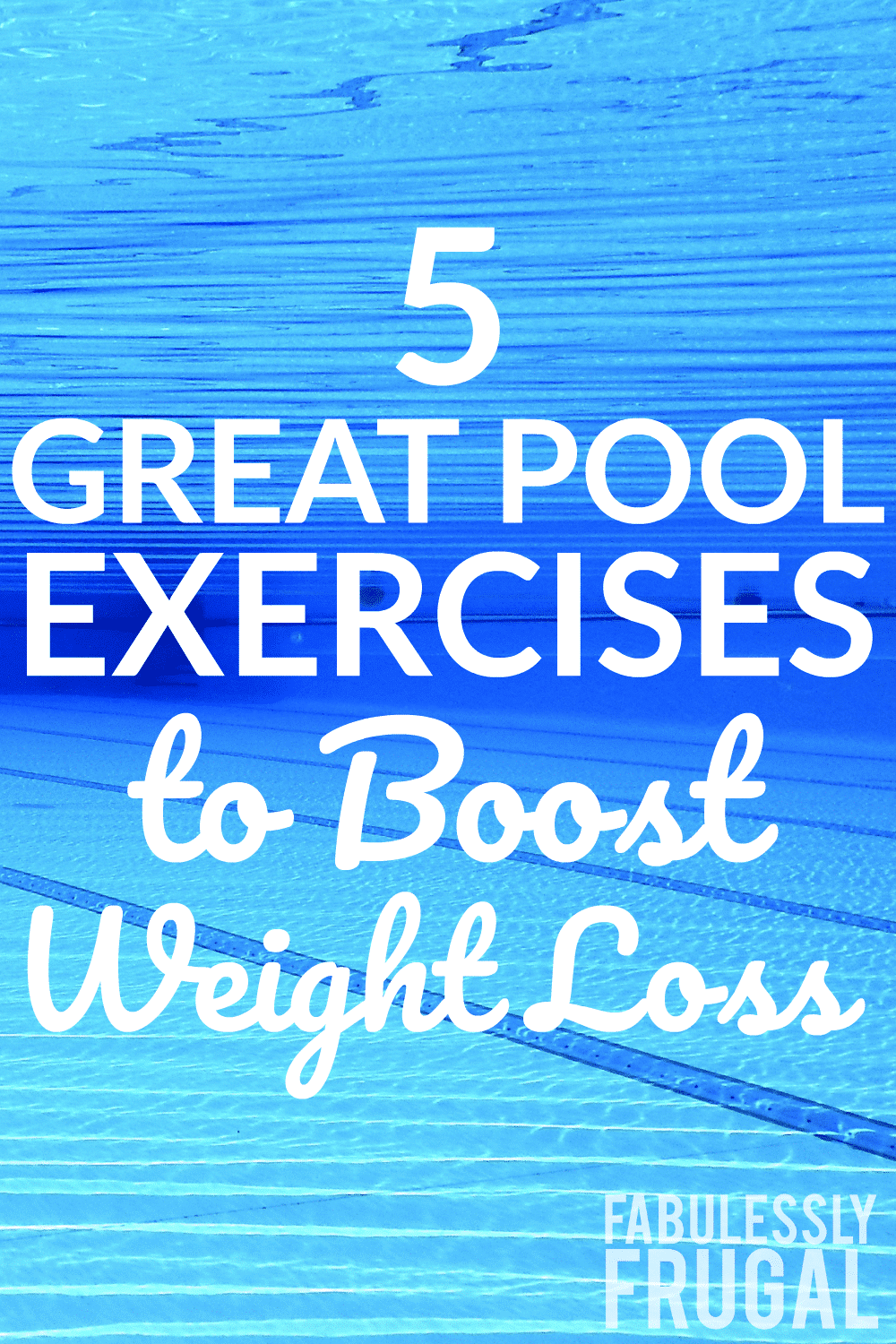 5 great swimming pool exercises for weight loss