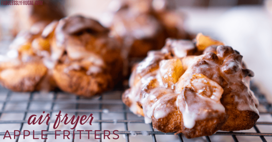 Air fryer apple fritters are easy and simple. You only need 3 ingredients to make this delicious recipe that everyone will love