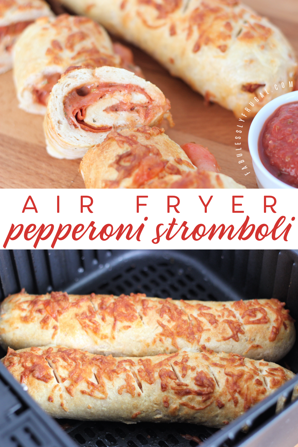 How to make air fryer stromboli