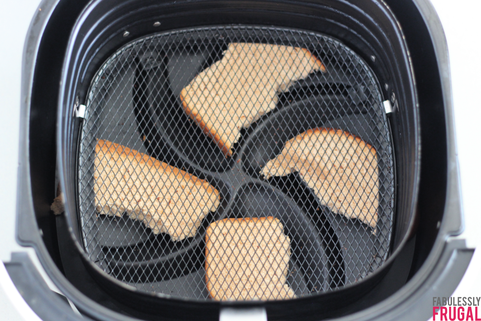 bread for cooking bacon in air fryer