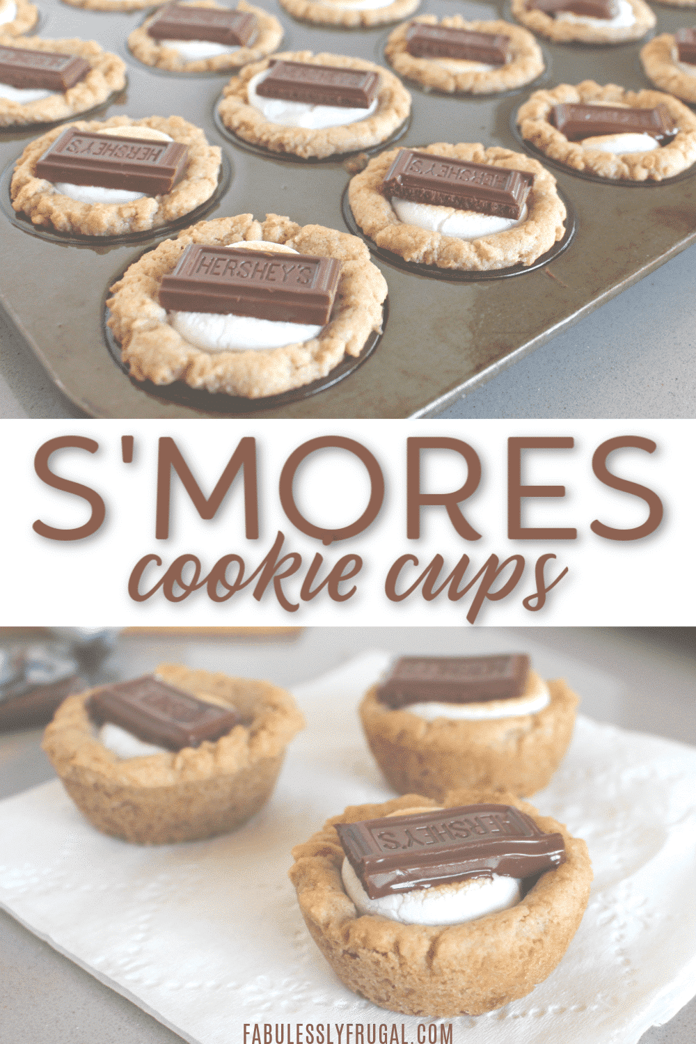 Smores cups finished
